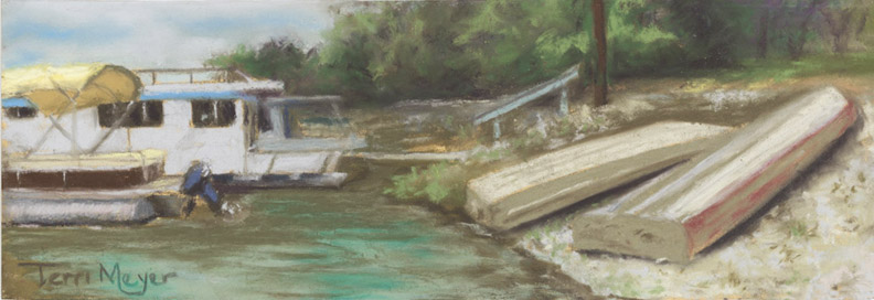 Boats at Charles Mill Lake, Ohio