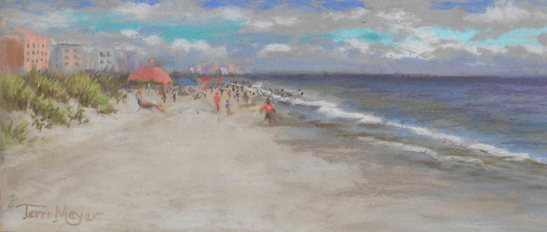 Landscape And Vignette Paintings By Terri Meyer