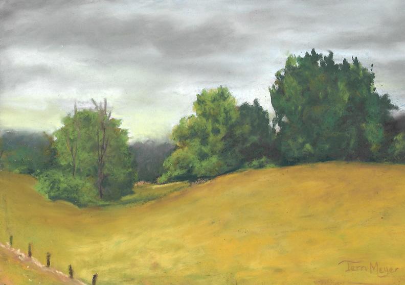 Plein Air Pastel - Meyer Landscape s