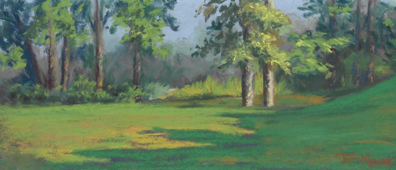 plein air pastel 8-2-16 Daddy John's Paradise by Terri Meyer